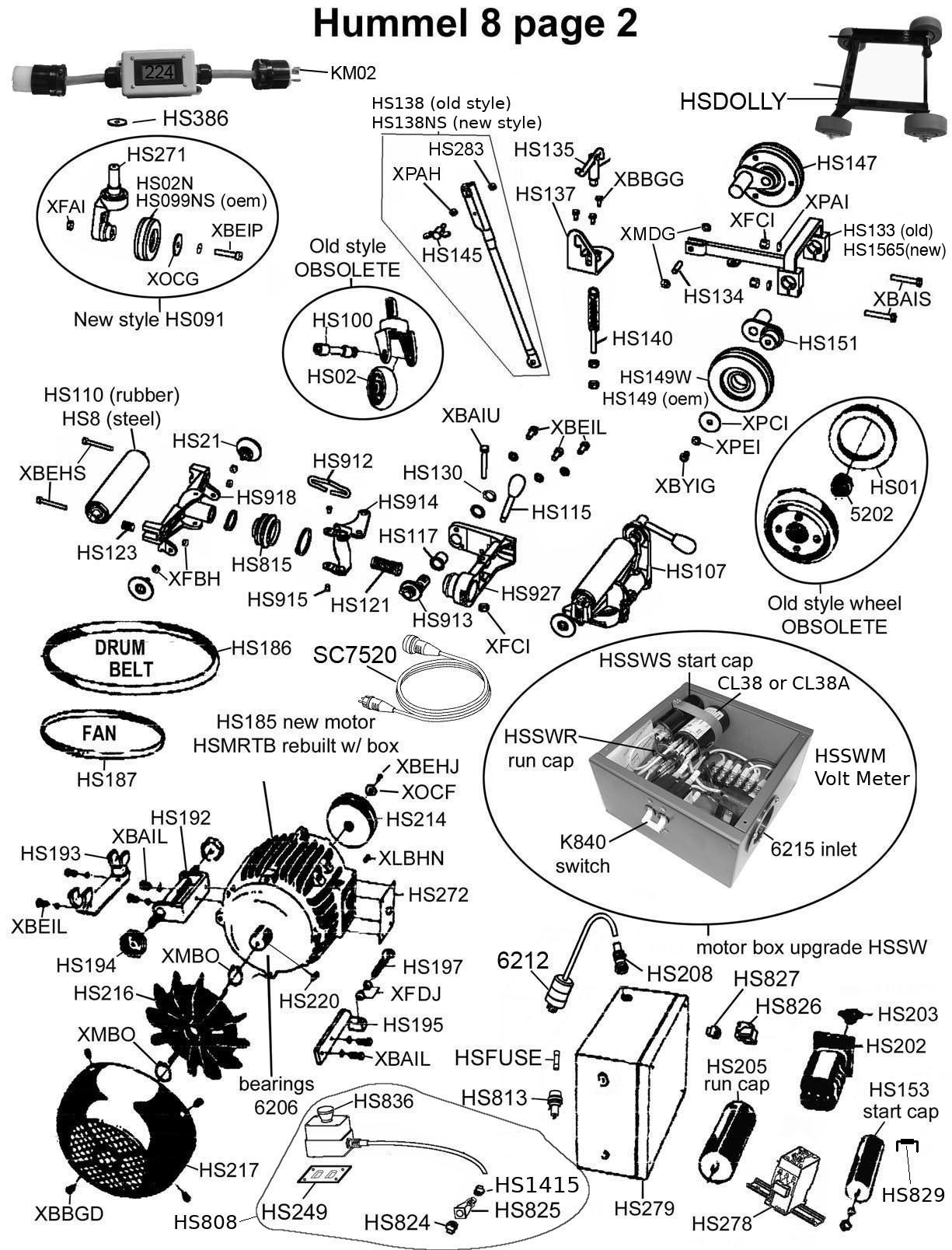 Parts Breakdown