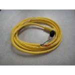 E-stop Cord Plug w/wire, Cobra